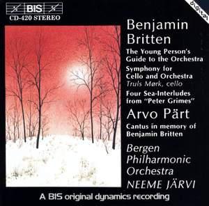 Neeme Järvi conducts Britten