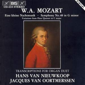 Mozart - Transcriptions for Organ Duet Product Image