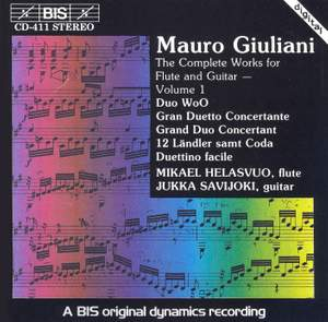 Giuliani - Complete Works for Flute and Guitar, Volume 1