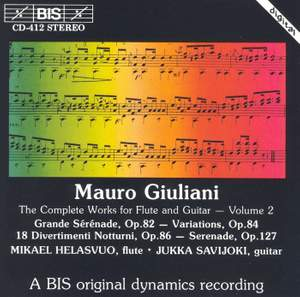 Giuliani - Complete Works for Flute and Guitar, Volume 2