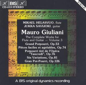 Giuliani - Complete Works for Flute and Guitar, Volume 3