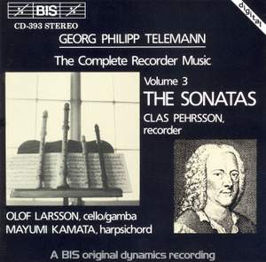 Telemann - Recorder Sonatas