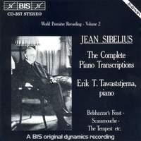 Sibelius - Complete Piano Transcriptions, Volume 2