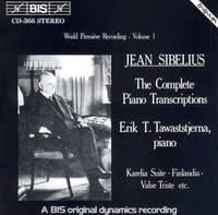 Sibelius - Complete Piano Transcriptions, Volume 1