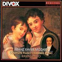Franz Xaver Mozart - Complete Chamber Music with Piano