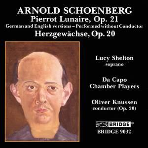Schoenberg - Vocal Works