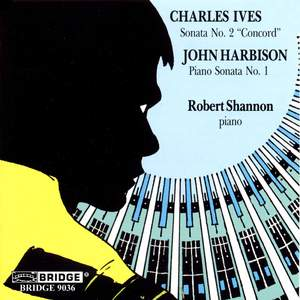 Ives: Piano Sonata No. 2 & Harbison: Piano Sonata No. 1 Product Image