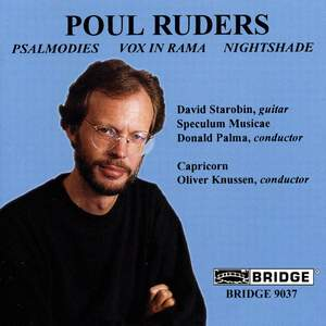 The Music of Poul Ruders, Volume 1