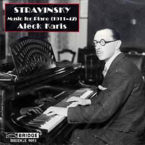 Stravinsky - Music for Piano (1911-42)