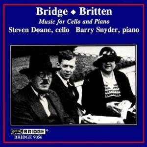 Bridge & Britten - Music for Cello and Piano