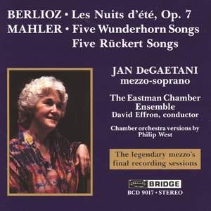 Berlioz: Les Nuits d'été & Mahler: Lieder