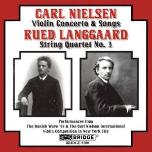 Nielsen: Five Songs, Op. 4 (FS12), etc.