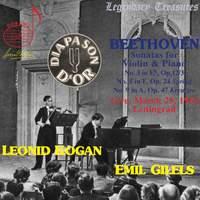 Leonid Kogan & Emil Gilels - Beethoven Violin Sonatas