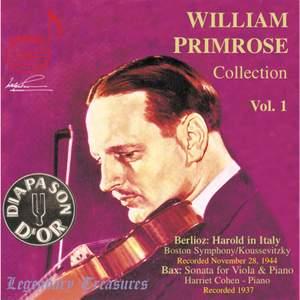 The William Primrose Collection, Volume 1