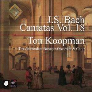 J S Bach - Complete Cantatas Volume 18 Product Image