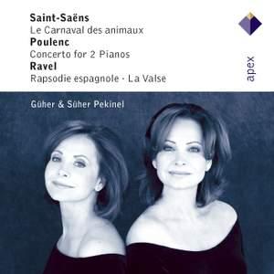 Saint-Saëns: Le carnaval des animaux and Poulenc: Concerto for 2 pianos Product Image