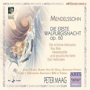Mendelssohn: Die erste Walpurgisnacht & Overtures