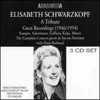Elisabeth Schwarzkopf: A Tribute
