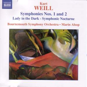 Weill, K: Symphony No. 1 in one movement 'Berliner Symphony', etc.