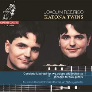 Rodrigo: Concierto Madrigal, Tonadilla & arrangements for two guitars