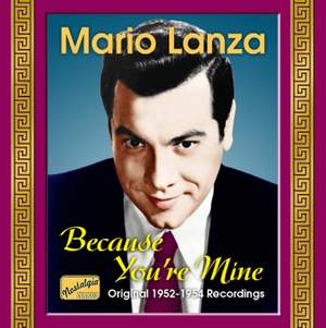 Mario Lanza - Because You're Mine Product Image