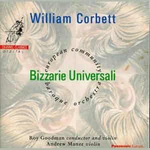 Corbett, W: Bizzarie Universali Op. 8