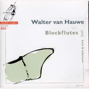 Walter van Hauwe Blockflutes Vol. 1