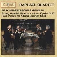 Felix Mendelssohn Bartholdy - String Quartets