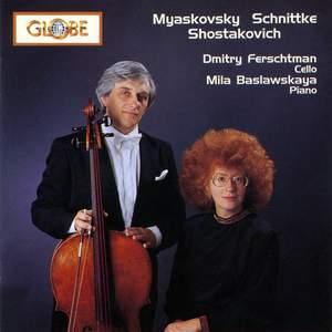 Nikolay Myaskovsky / Alfred Schnittke / Dmitry Shostakovich - Cello Sonatas