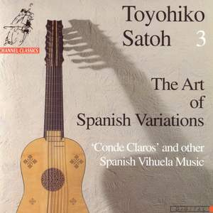 The Art of Spanish Variations Vol.3