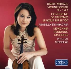 Milhaud: Violin Concerto No. 1 and 2, etc.