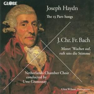 Joseph Haydn / Johann Christoph Friedrich Bach - The Part-Songs / Wachet auf