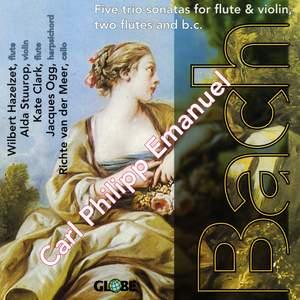 Carl Philipp Emanuel Bach - Five Flute Trios