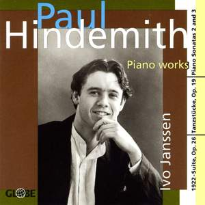 Paul Hindemith (1895-1963): Piano Works