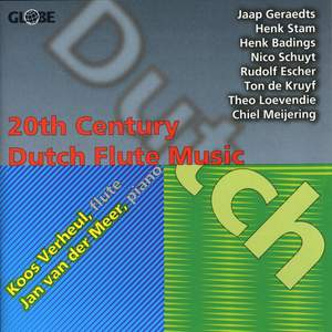 20th Century Dutch Flute Music Product Image