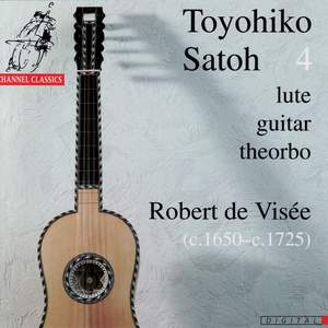 Visée: Suite for lute in D minor, etc.