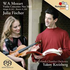 Mozart - Violin Concertos Nos. 3 & 4 Product Image