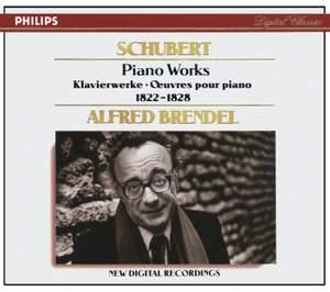 Schubert - Piano Works 1822-1828 Product Image