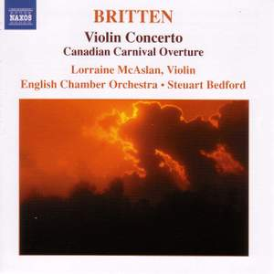 Britten: Violin Concerto in D minor Op. 15, etc.