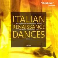 Italian Renaissance Dances Volume 1