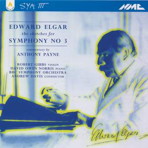 Elgar: Symphony No. 3 - Sketches