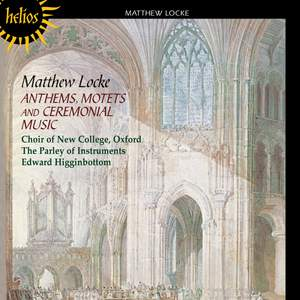 The English Orpheus 3 - Locke: Anthems, Motets and Ceremonial Music Product Image