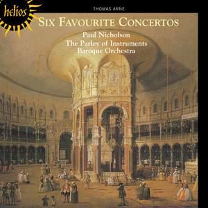 The English Orpheus 7 - Thomas Arne Concertos