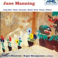 Jane Manning sings Weir, Nash, Connolly, Bauld, Elias, Payne and Gilbert