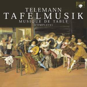 Telemann: Tafelmusik I-III, etc. Product Image