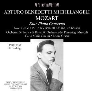 Mozart: Four Piano Concertos