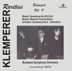 Klemperer Rarities: Budapest, Vol. 11 (1948-1949) Product Image