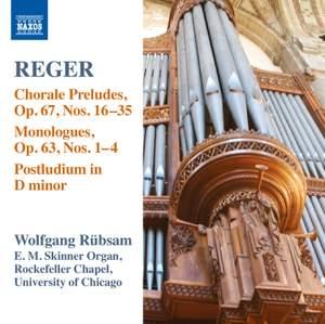 Reger - Organ Works Volume 15