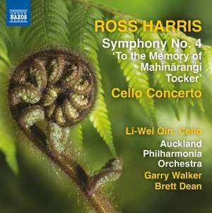 Ross Harris: Cello Concerto & Symphony No. 4