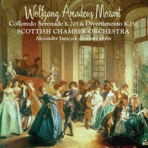 Mozart: 'Colloredo' Serenade & Divertimento K251